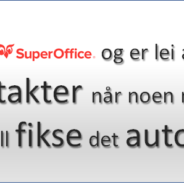 SmartCall med SuperOffice