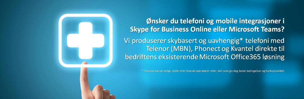 Telefoni til Office365