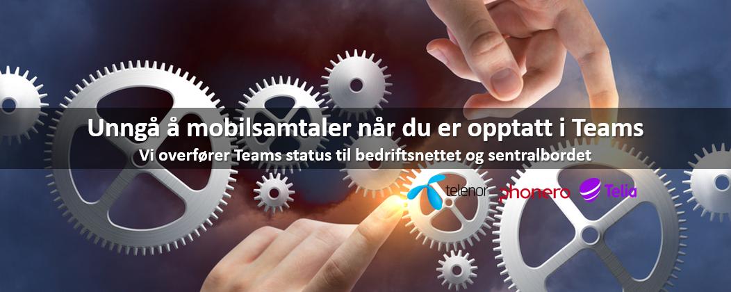 Teams statusoverføring